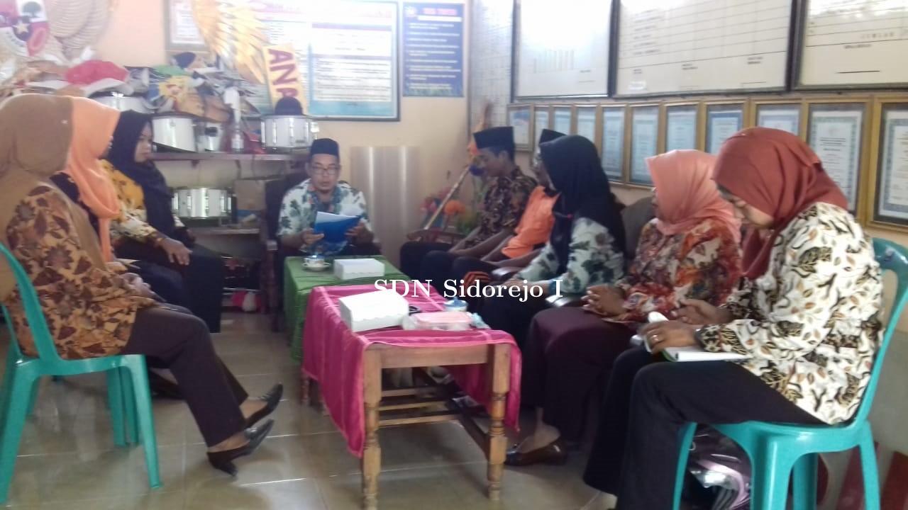 Kegiatan RPS (Rencana Pengembangan Sekolah) SD Negeri Sidorejo 1 Kec. Kedungadem